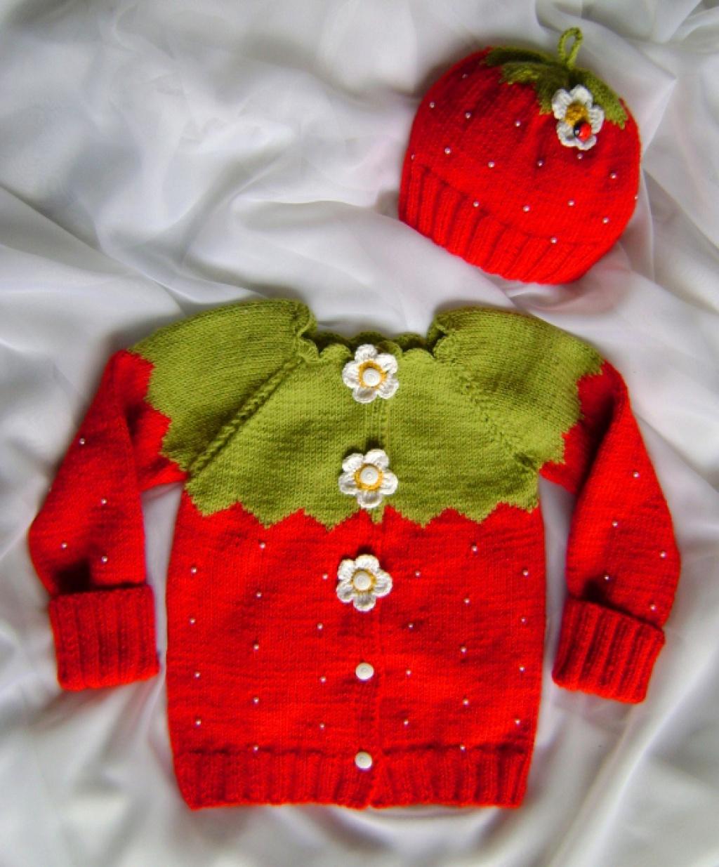 Вязание детской одежды 47
